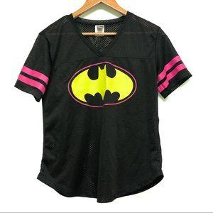 🐣 2/$20 Batman Mesh Top Neon Medium